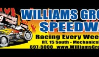For the second week in a row Williams Grove Speedway has canceled their racing event scheduled for this evening due to rain....