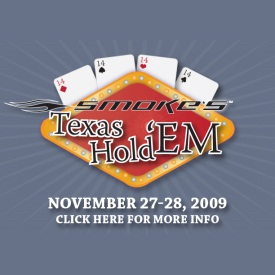 Tony Stewart Foundation Texas Hold'em Ad