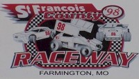 The program scheduled for Saturday at St. Francois County Raceway was rained out.
