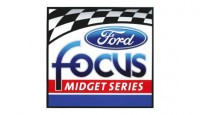 Bryant Dawson won two featuresa the Las Vegas Motor Speedway Bullring Saturday in USAC Ford Focus action.
