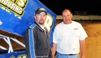 Lorne Wofford won the sprint car feature Friday night at El Paso Speedway Park.