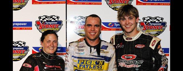 Sydney Speedway top three