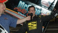 The Hoosier Outlaw Sprint Series event at Plymouth Speedway saw Jimmy McCune win.