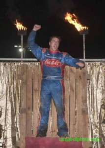Tyler Walker after winning the Kings Royal. - Mike Campbell Photo