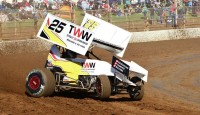 James McFadden now one victory behind Clauson for the lead, Tim Kaeding into the top five...
