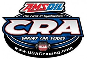 USAC United States Auto Club CRA California Racing Association Logo
