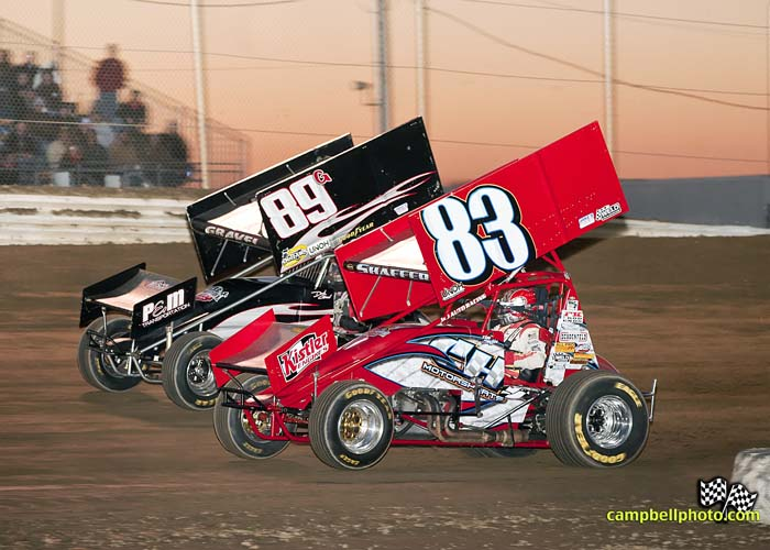 Tim Shaffer and David Gravel. - Mike Campbell Photo