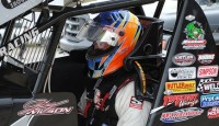 Greg Wilson spent a month in the west racing on unfamiliar tracks. He said, simply put, he got his butt kicked. But, he learned and couldn't wait to get back to Ohio to familiar surroundings. The Benton Ridge, Ohio driver put his new knowledge to great use Saturday at Fremont Speedway.