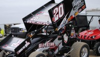 For the second week in a row, the fans at Fremont Speedway were treated to a thrilling 410 sprint car race that featured wheel banging, the winner coming from deep in the field and a late race charge from a rookie.