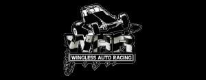 Wingless Auto Racing war logo