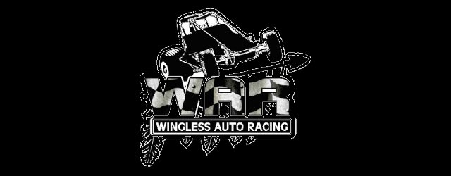 Wingless Auto Racing war logo