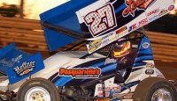 Daryn Pittman led wire-to wire to capture the 23rd Western Pennsylvania Championship sanctioned by the UNOH All Stars Circuit of Champions.
