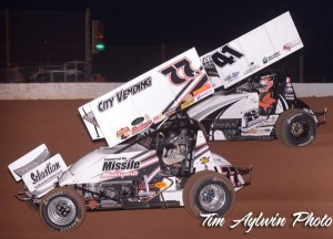 Wayne Johnson under Jason Johnson. - Tim Aylwin Photo