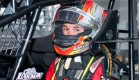 Racing phenom Kyle Larson of Elk Grove, Calif. is planning to compete in Sunday's USAC National Midget race at the New Smyrna Speedway in New Smyrna Beach, Fla. It'll be part of a busy week of activity for the 21-year-old who has compiled 10 USAC National Midget victories in his first two seasons.
