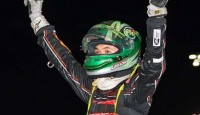 Kyle Larson won the USAC Western Classic Sprint Car Feature Wednesday night at Silver Dollar Speedway to kick off the Gold Cup Race of Champions weekend.  Andy Forsberg, Shauna Hogg, Tony Hunt, and Mark Tabor Jr. rounded out the top five.