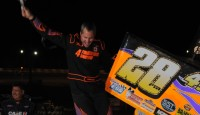 Steve Poirier won the final event of the 2012 season with the Patriot Sprint Tour.  Bryan Howland, Jason Barney, Michael Parent, and Justin Barger rounded out the top five.