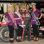 Bryan Clauson after winning the Silver Crown portion of the 4-Crown Nationals. - Jan Dunlap Photo
