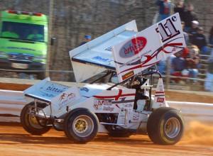 Cory Haas. - Rick Rarer / Sprintcarnews.com