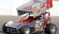 Veteran sprint car driver Jeff Bloom has been running at Winchester Speedway for a long time. Bloom's racing career began back in 1968. It wasn't until 1972 that Bloom began competing in the sprint cars and in particular, the American Speed Association (ASA).