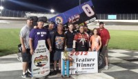 On a breezy night in Kansas the Wicked City Shootout kicked off with Bartlett, Tennessee's Jeff Swindell grabbing the $3,000 Lucas Oil American Sprint Car Series presented by MAVTV feature event.