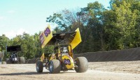 The sixty-sixth  season of the Nation's oldest traveling sprint car organization, the URC Sprint Series,  officially opened on Friday night at the Big Diamond Speedway with defending champion Robbie Stillwaggon taking the lead in the late stages of the event.
