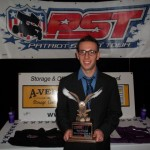 Steven Hutchinson Jr of Oswego, NY was crowned the 2012 Insinger Race Fuels Patriot Sprint Tour Rookie of the Year. - PST Photo