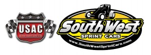 USAC United States Auto Club Southwest Sprint Car Series Logo
