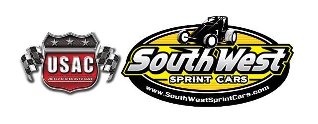 USAC United States Auto Club Southwest Sprint Car Series Logo tease