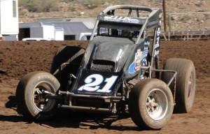 Jeremy Sherman. 5-Time Arizona Sprint Car Champion. Photo by Lance Jennings.