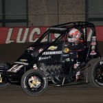 Tony Stewart took 3rd in the 2013 Chili Bowl Midget Nationals Night #1.  (Serena Dalhamer photo)