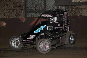Kevin Swindell won qualifying night #3 of the 2013 Chili Bowl Mi