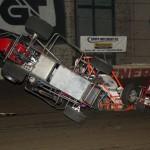 Daniel Robinson (57D) flips, Glenn Styres (0), Brad Cox (94C) (S