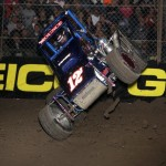 Jay Mounce catches air during the 1st J feature of the 2013 Chil
