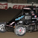 Sammy Swindell finished 2nd to his son, Kevin, yet again in the
