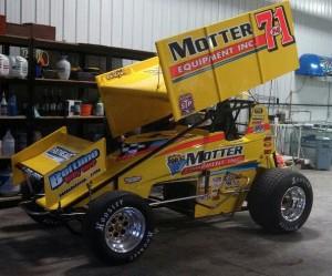 Joey Saldana's car for 2013. - Image courtesy of Joey Saldana Racing