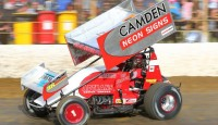 American Tim Shaffer and the Camden Racing team enjoyed a consistent run at last weekend's Grand Annual Classic at Premier Speedway in Victoria. They managed to finish both feature races over the two-night show in sixth.
