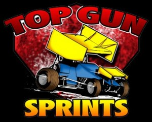 Top Gun Sprint Car Series Logo 2013