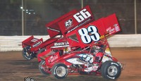 Will one driver win both 410 sprint car features on May 17th at Attica Raceway Park...