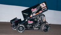 Andy Gregg's first trip to the Knoxville Raceway culminated in the Placerville, CA driver earning 2014 Rookie of the Knoxville Nationals honors by way of his C Main efforts during the Saturday night finale.