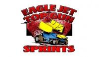 Mark Ruel, Jr. won the Top Gun Sprint Car Series feature Saturday night at Bubba Raceway Park.