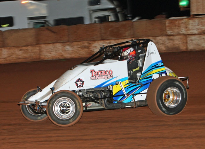 Harli White in action (Mike Howard Photo)