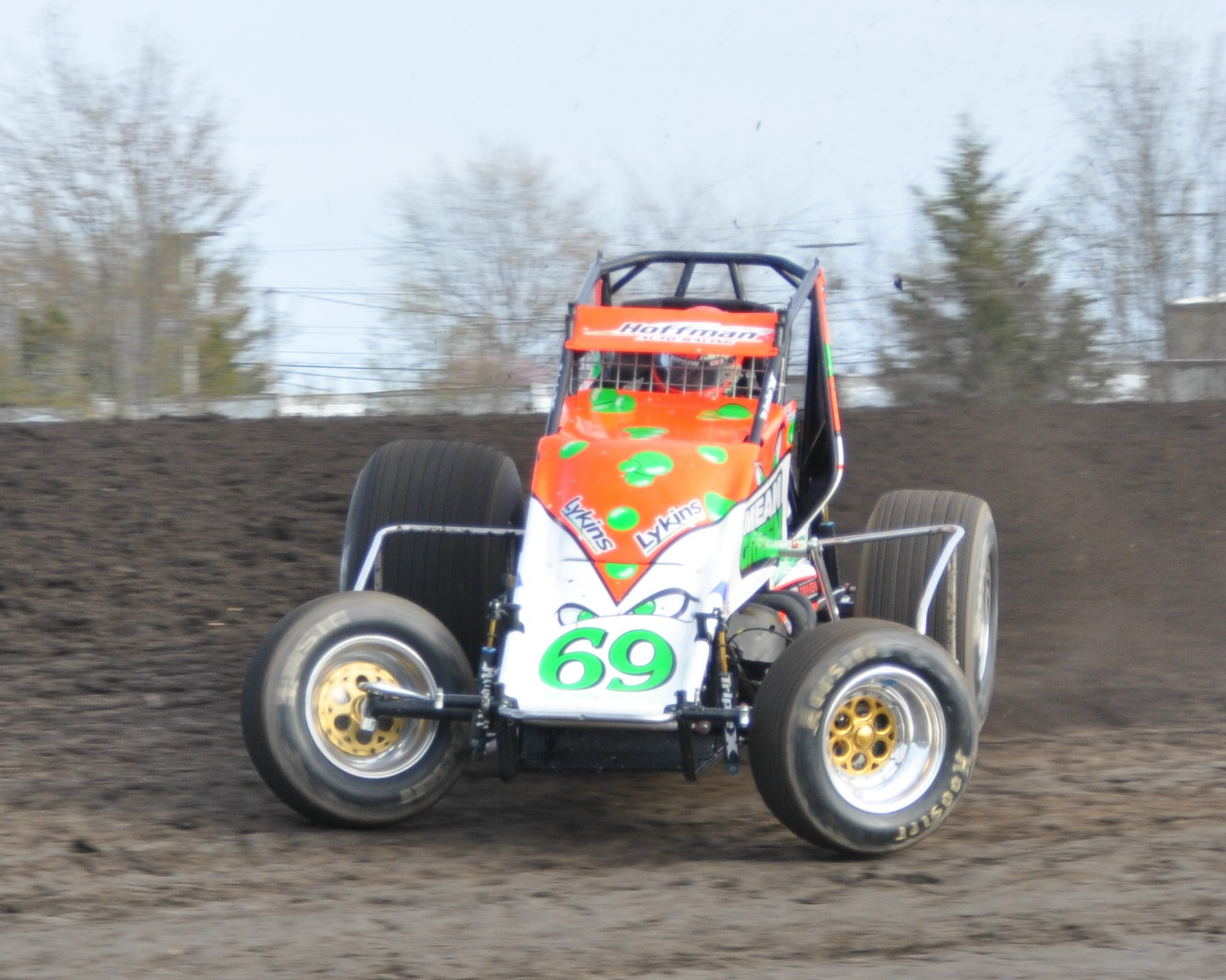 USAC Schedule Picks Up With Larry Rice