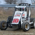 Billy Wease drove the Don Moore Music Publications entry to a fourth place finish. - Bill Miller Photo