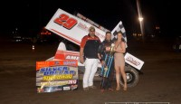 Willie Croft won the sprint car feature Friday night at Silver Dollar Speedway.