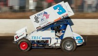 Sacramento's Willie Croft will try to continue his winning ways this Friday night, April 26, at the Silver Dollar Speedway.