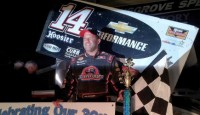 "Tony Stewart won the ""358-360 Sprint Car Spring Challenge"" Saturday night at Selinsgrove Speedway with the Lucas Oil Empire Super Sprints."