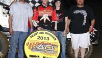 Matt Covington started out front, and ended out front with the Smiley's Racing Products Lone Star Region at the Abilene Speedway for his first Lone Star triumph of the season.