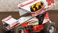 Images from Friday night's STP World of Outlaws program at Eldora Speedway...