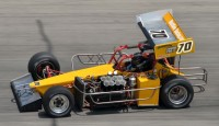 Images of sprint cars and super modifieds from Winchester...