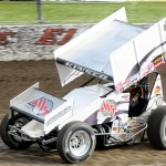 Kraig Kinser. - Jan Dunlap Photo